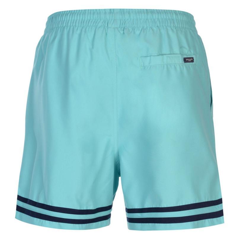Plavky Pierre Cardin Stripe Swim Shorts Mens Yellow