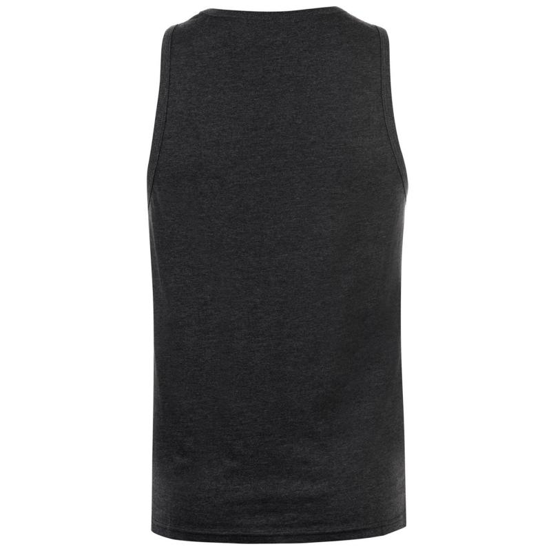 Tílko Pierre Cardin Cut and Sew Vest Mens CharcM/Whte/Blk