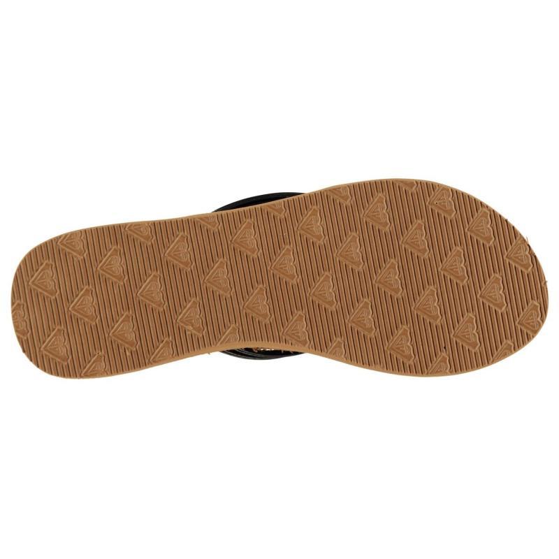 Boty Roxy Lana Flip Flops Ladies Brown