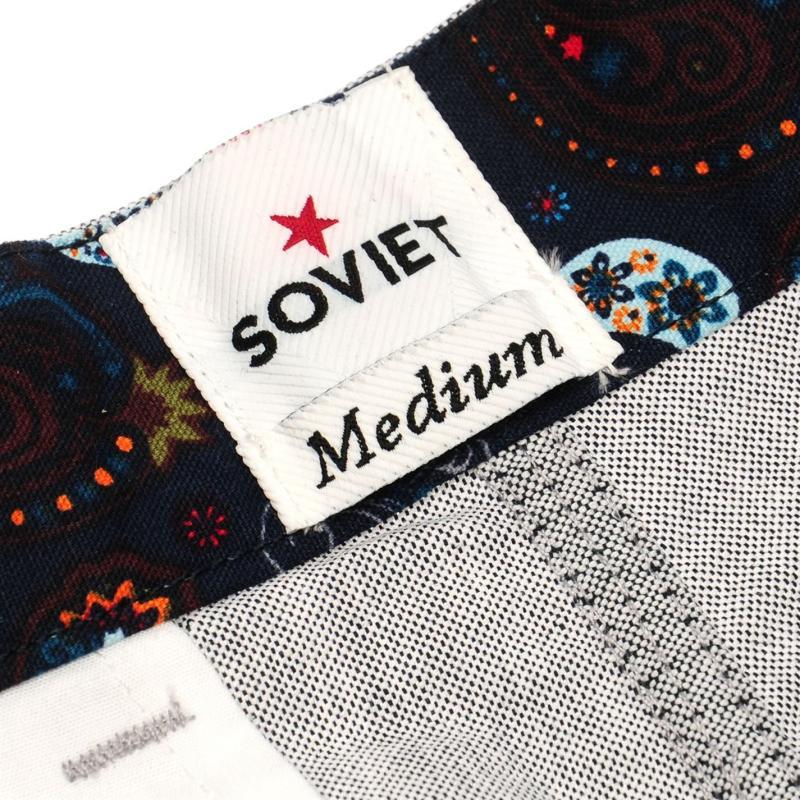 Soviet Oxford Shorts Navy