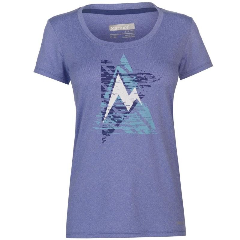 Marmot Post Time T Shirt Ladies Lilac