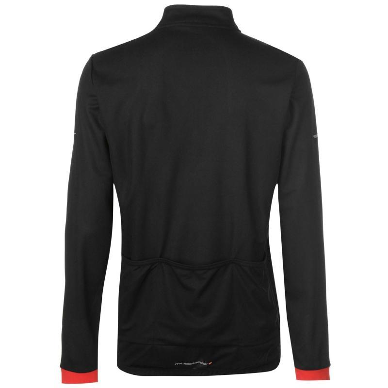 Tričko Muddyfox Cycling Long Sleeve Jersey Mens Navy