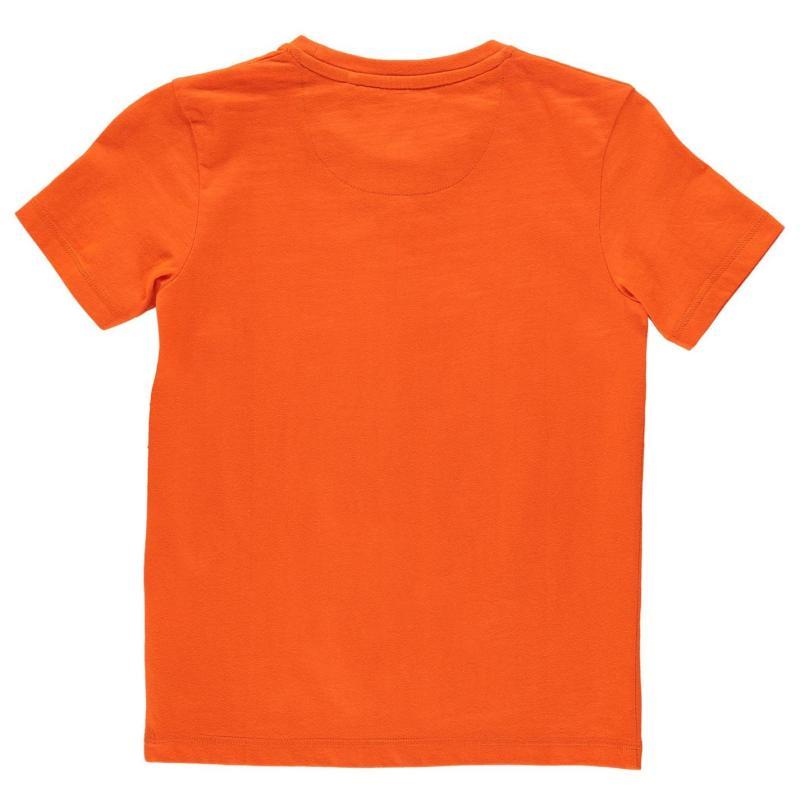 Tričko SoulCal Long Line T Shirt Junior Boys Bay