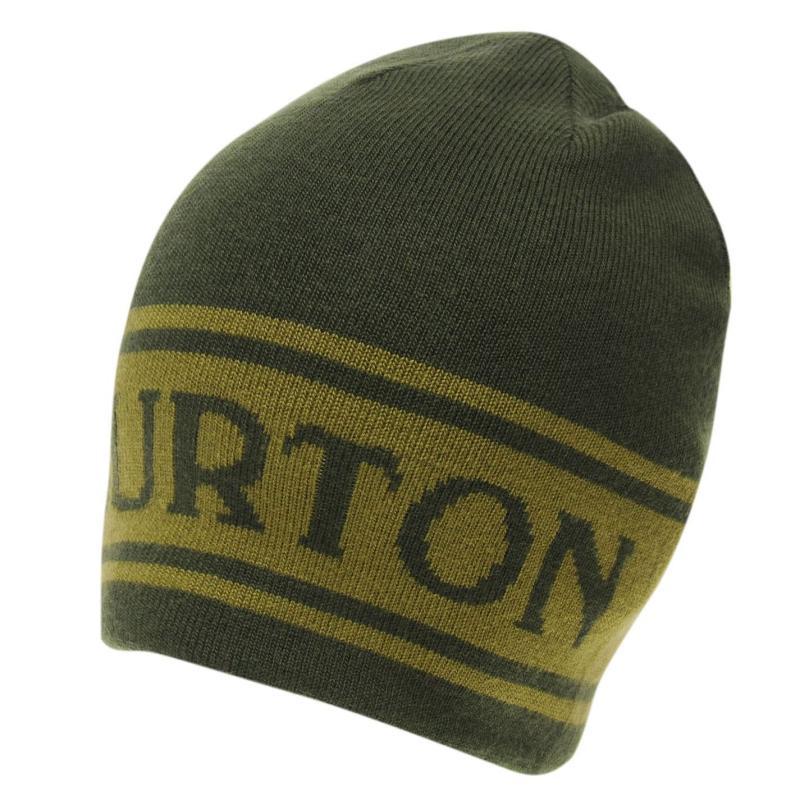 Burton Billboard Beanie Hat Mens Green
