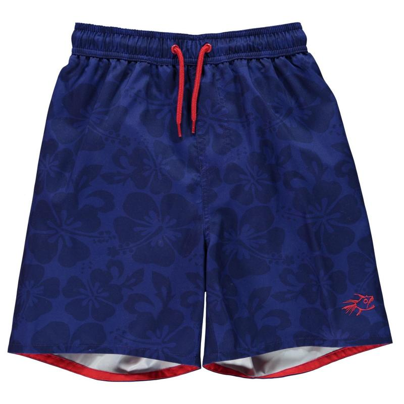 Kraťasy Hot Tuna Aloha Shorts Junior Boys Red