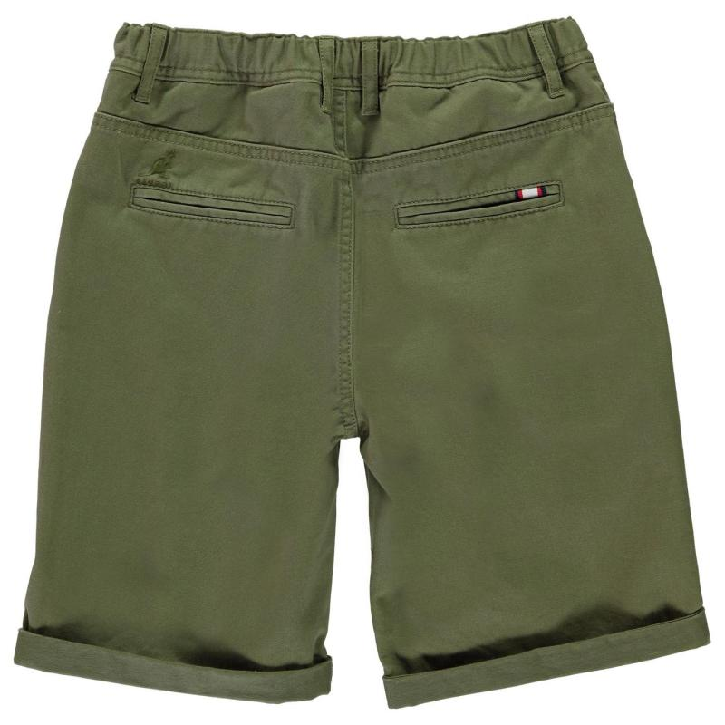 Tričko Kangol Chino Shorts Junior Boys Dark Navy