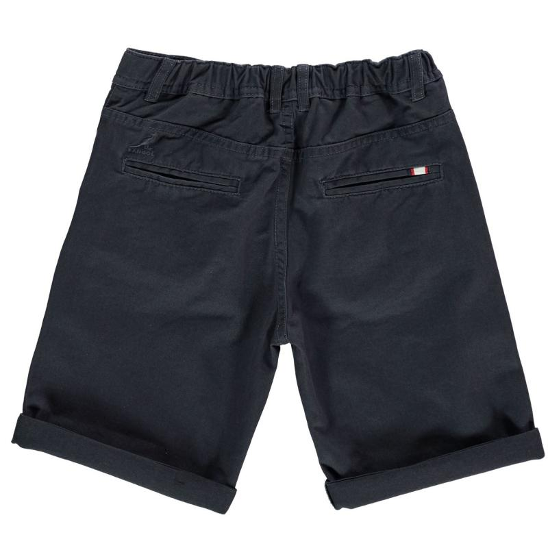 Kraťasy Kangol Chino Shorts Junior Boys Dark Navy