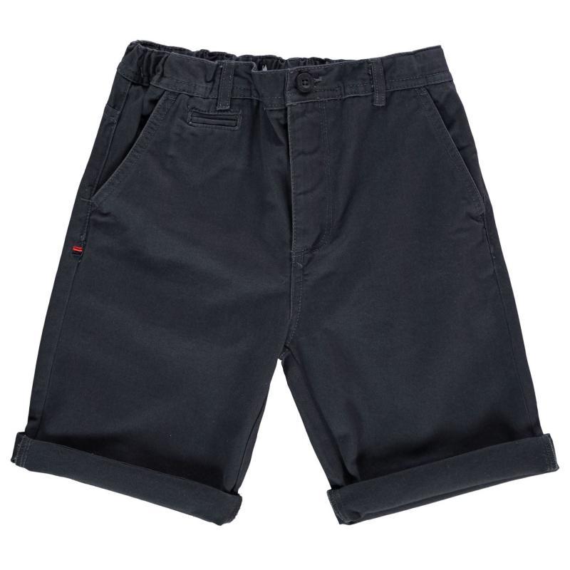 Kraťasy Kangol Chino Shorts Junior Boys Dark Sand