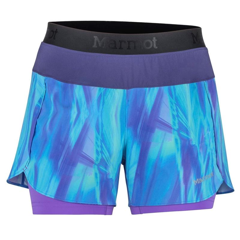 Marmot Pulse Shorts Ladies Blue