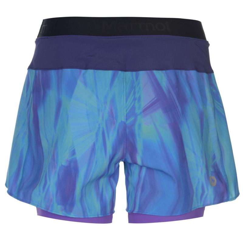Marmot Pulse Shorts Ladies Blue