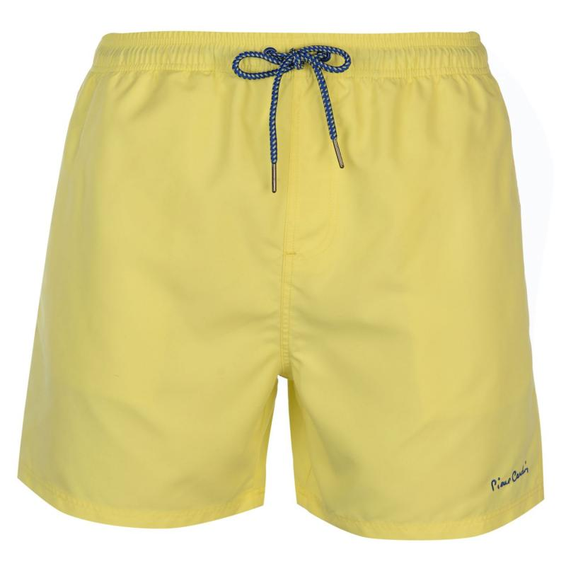 Plavky Pierre Cardin Multi Coloured Swim Shorts Mens Yellow