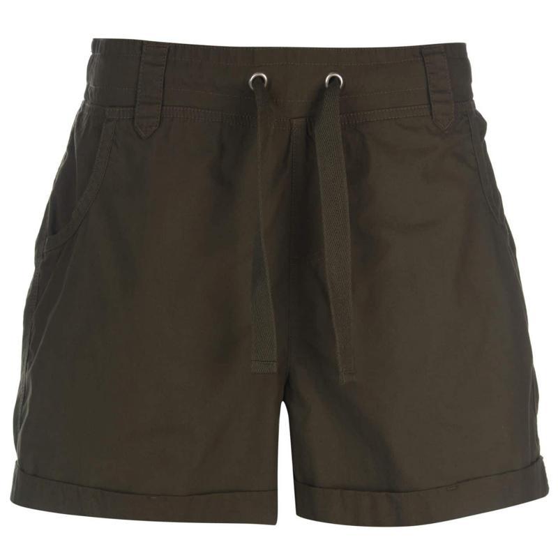 Full Circle Poplin Shorts Ladies Navy