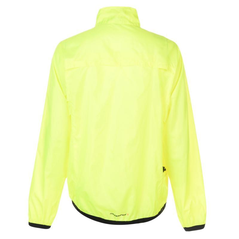 Muddyfox Lightweight Cycling Jacket Mens Yellow