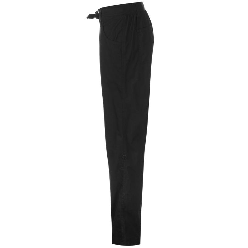 Sportovní kalhoty Full Circle Poplin Jogging Pants Ladies Dark Khaki