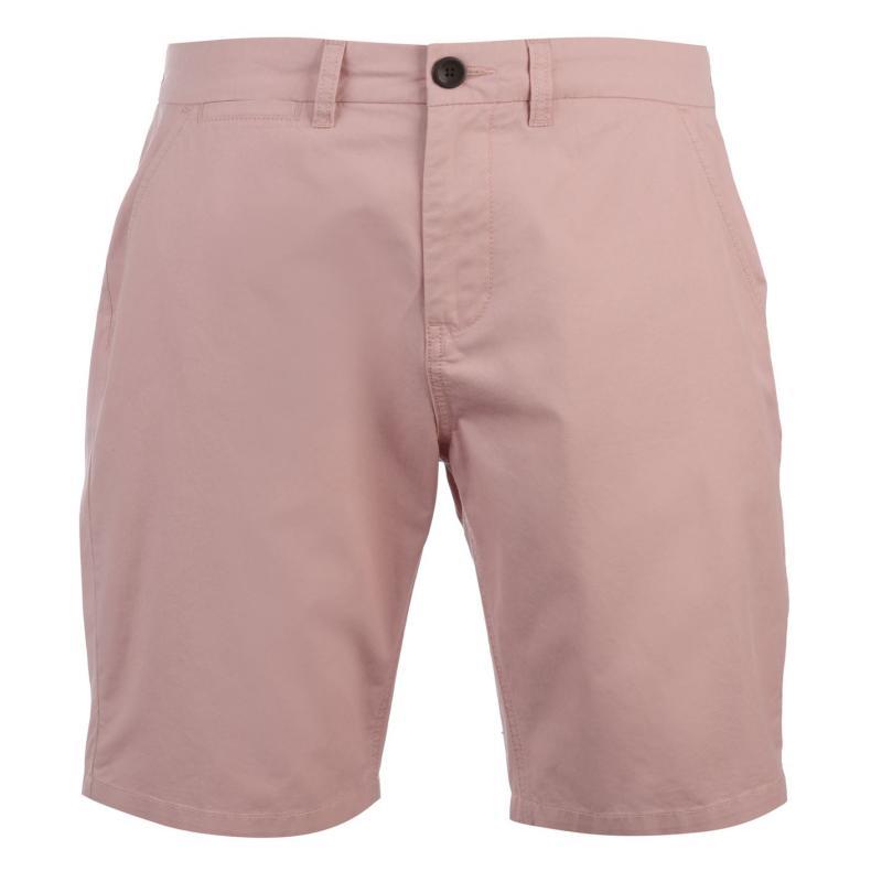 Pierre Cardin Chino Shorts Mens Pink