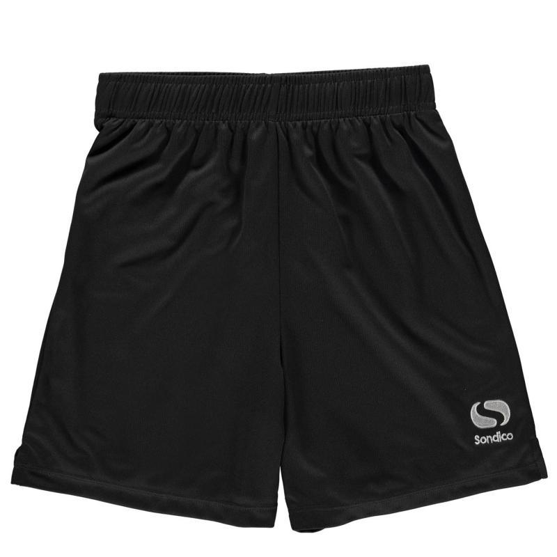 Kraťasy Sondico Core Football Shorts Junior Charcoal