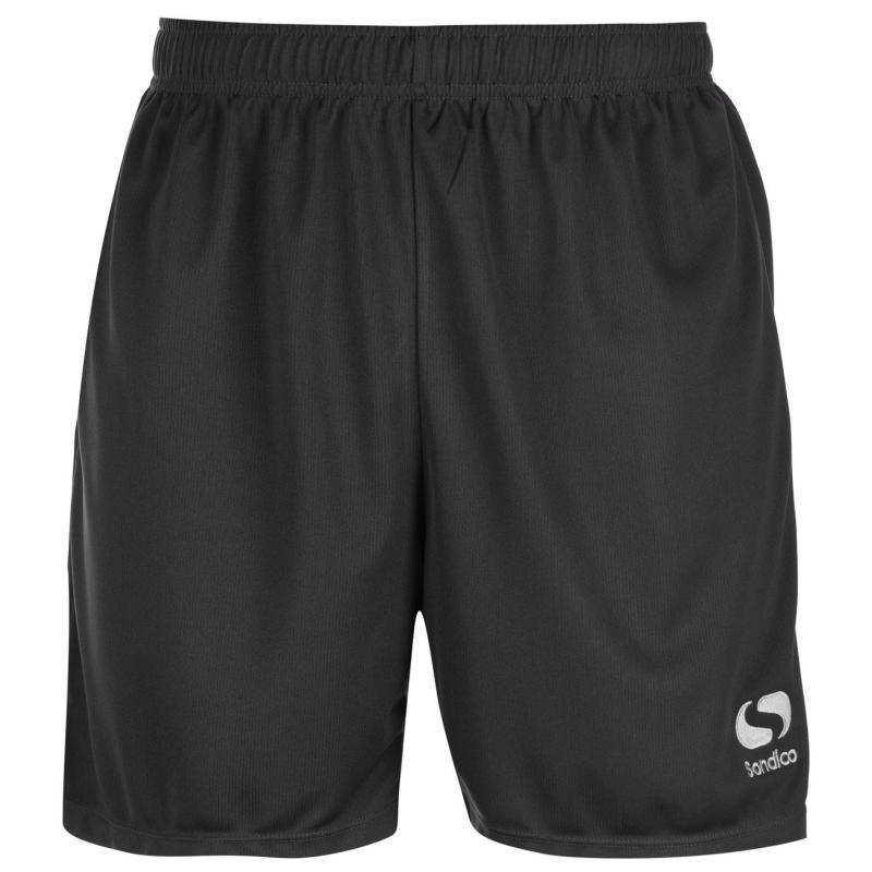 Sondico Core Football Shorts Mens Charcoal