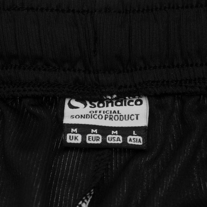 Sondico Core Football Shorts Mens Black/FluOrange