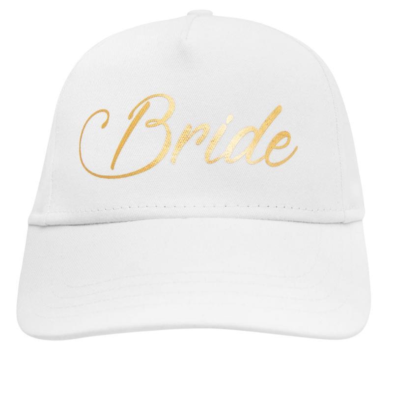 Uncut Fancy Dress Bridal Cap White Br