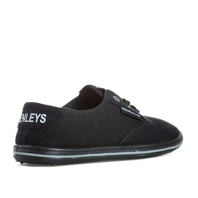 Boty Henleys Junior Boys Bevan Pumps Black