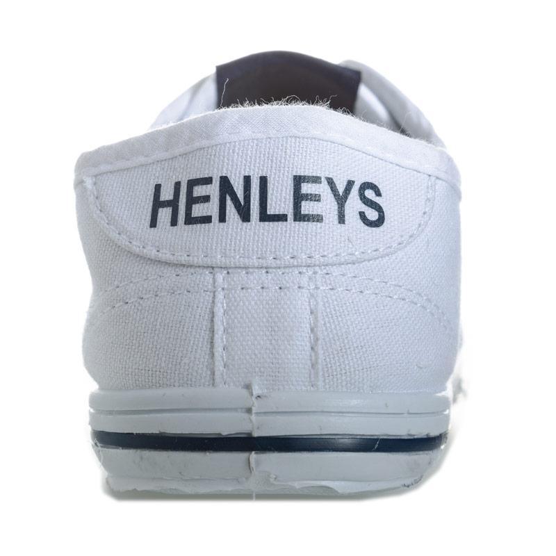 Boty Henleys Junior Boys Bevan Pumps White