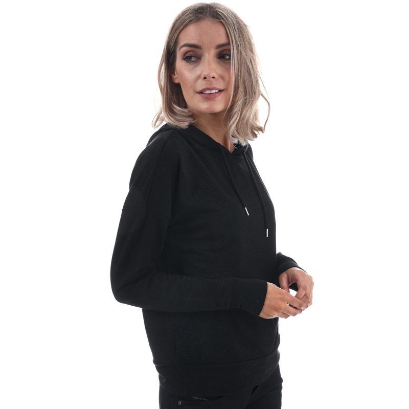 Mikina s kapucí Only Womens Roma Hoody Black