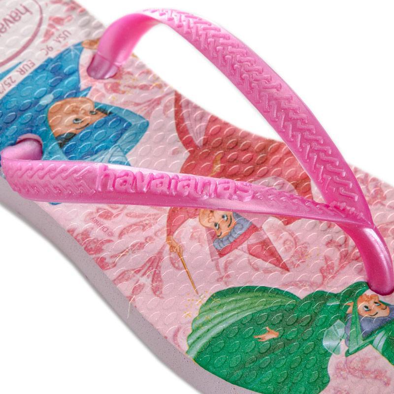 Havaianas Children Girls Disney Slim Princess Flip Flops Pink