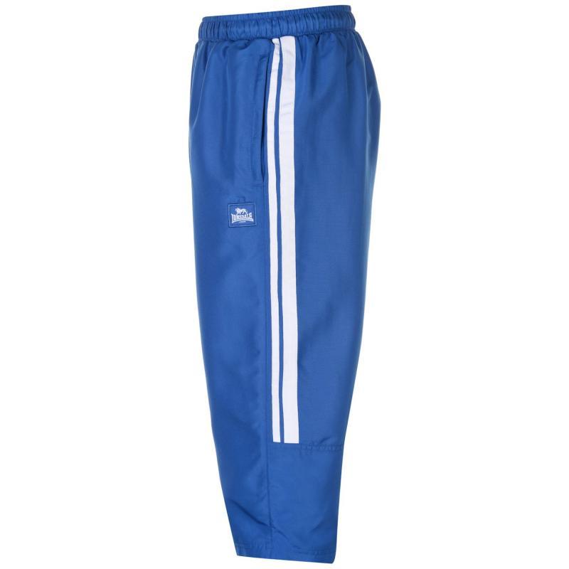 Lonsdale 2 Stripe Three Quarter Pants Mens Blue