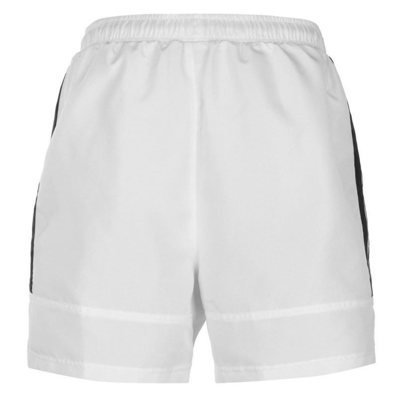 Lonsdale 2 Stripe Woven Shorts Mens White/Black