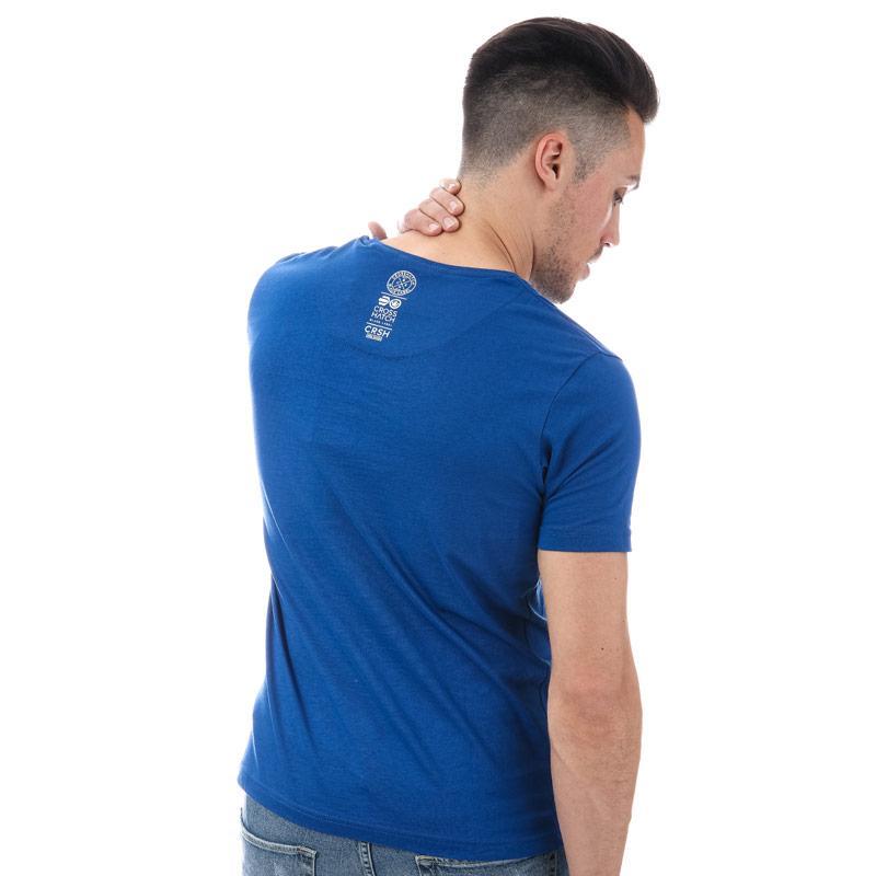 Tričko Crosshatch Mens Crozhatch T-Shirt Navy