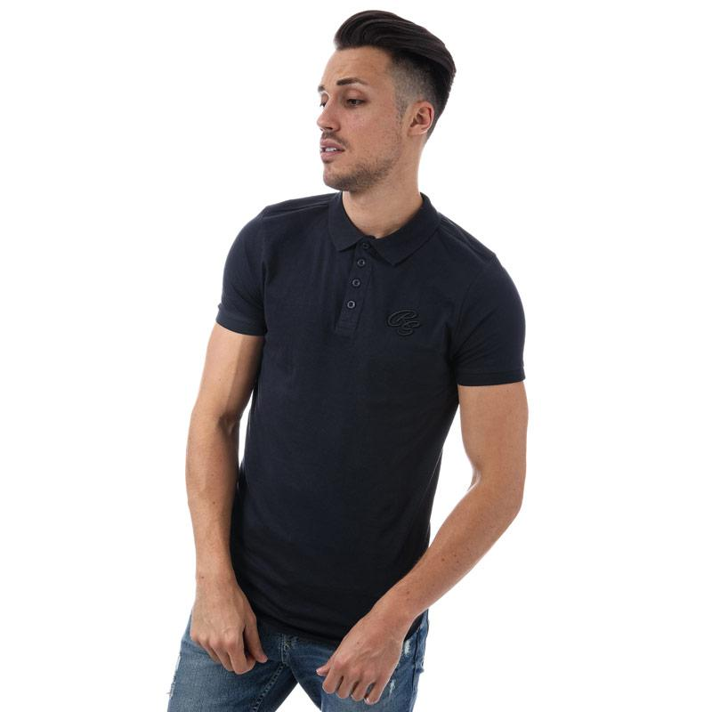 Crosshatch Black Label Mens Splendor Polo Shirt Navy