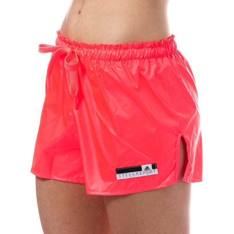 Adidas Performance Womens SC Woven Shorts Coral