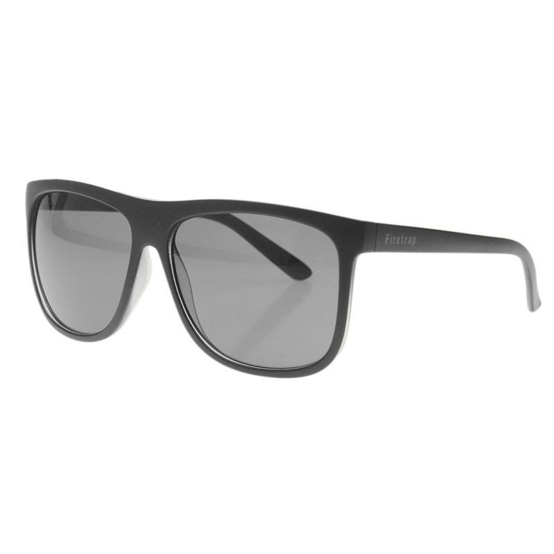 Firetrap Milan Sunglasses Mens Black/Blue