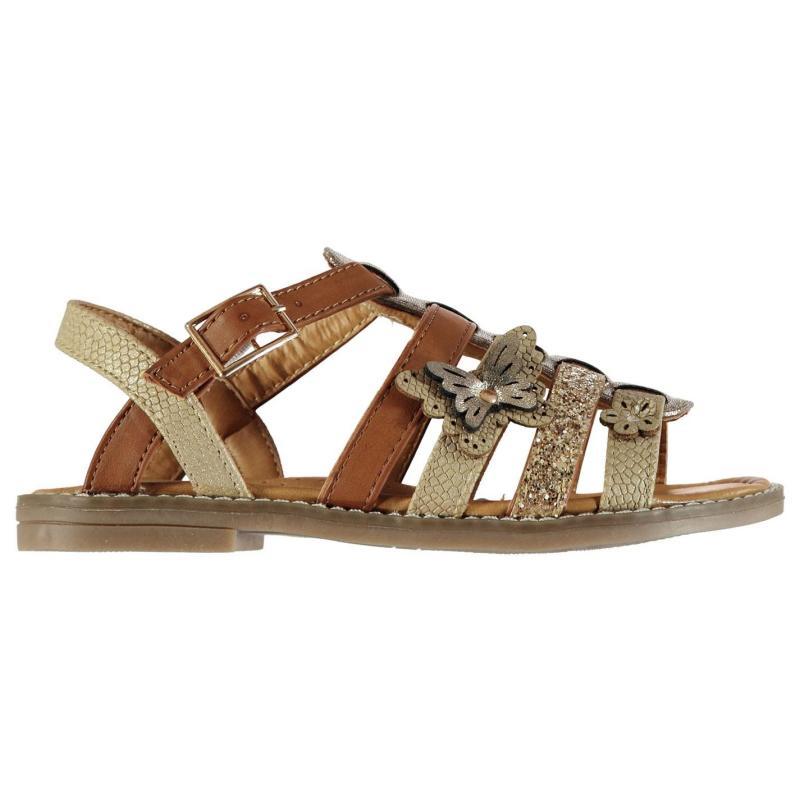 SoulCal Gladiator Sandals Child Girls Tan