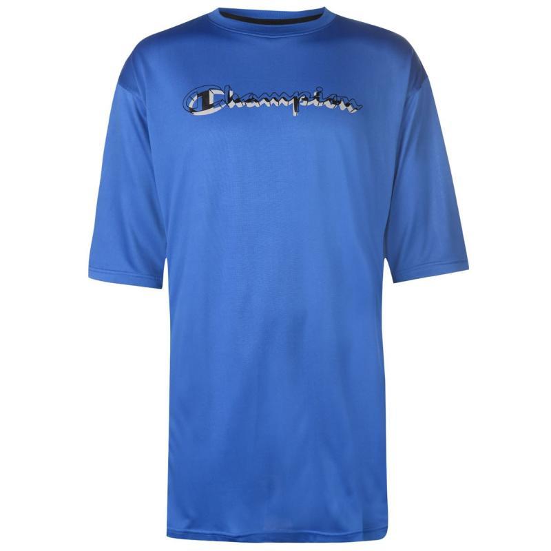 Tričko Champion Side Panel T Shirt Mens Royal