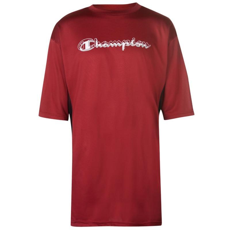 Tričko Champion Side Panel T Shirt Mens Red