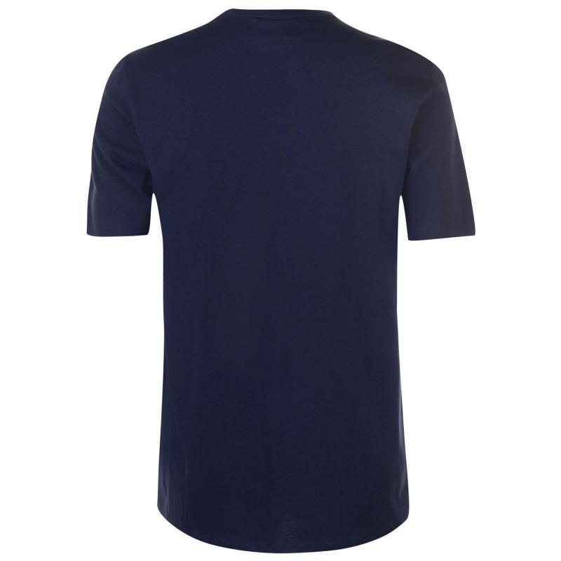 Tričko Everlast Shield T Shirt Mens Navy