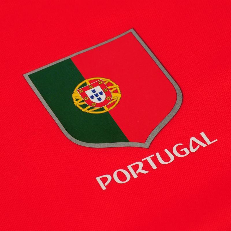 Tričko FIFA World Cup Russia 2018 Portugal Poly T Shirt Mens Red