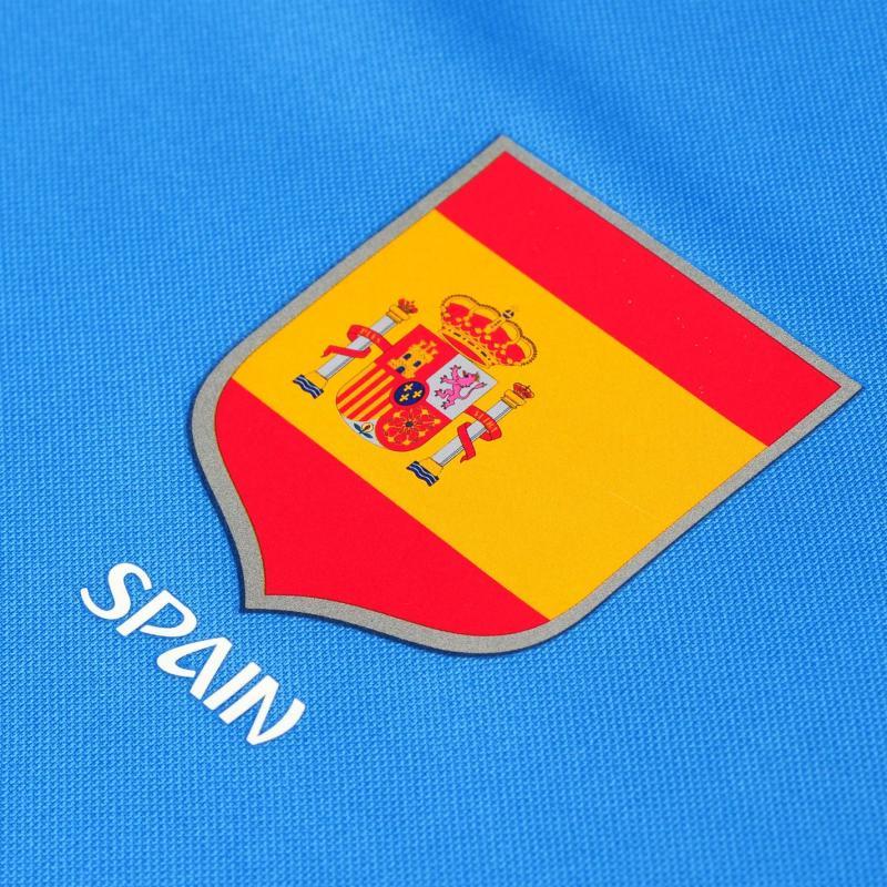 Tričko FIFA World Cup Russia 2018 Spain Poly T Shirt Mens Blue