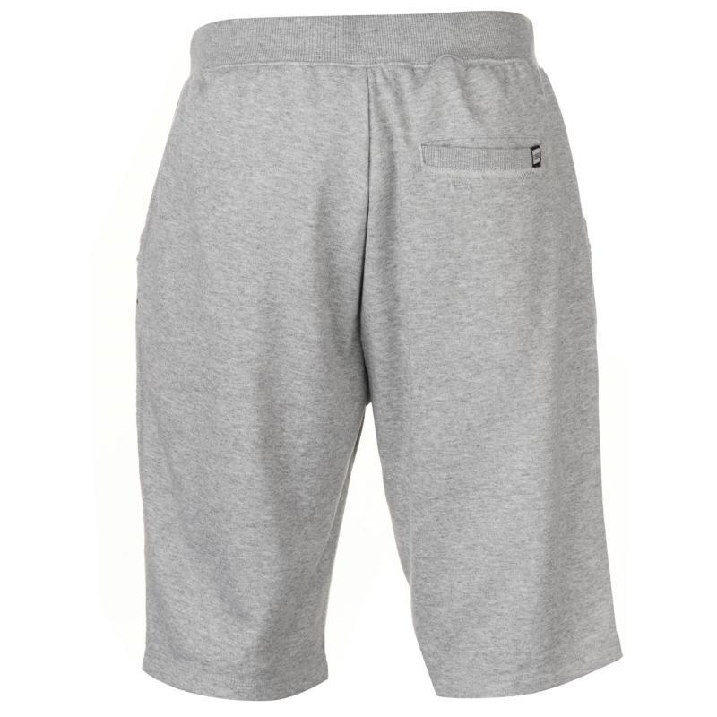 Lonsdale Marl Shorts Mens Grey Marl