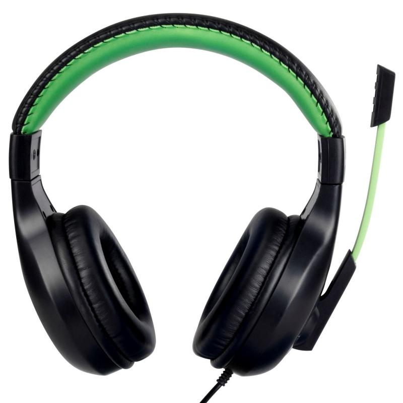 No Fear Gaming Headset Black/Green