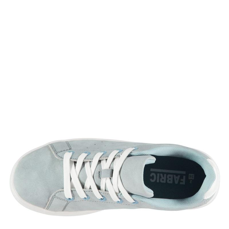 Fabric Mezlo Low Trainers Childrens Blue