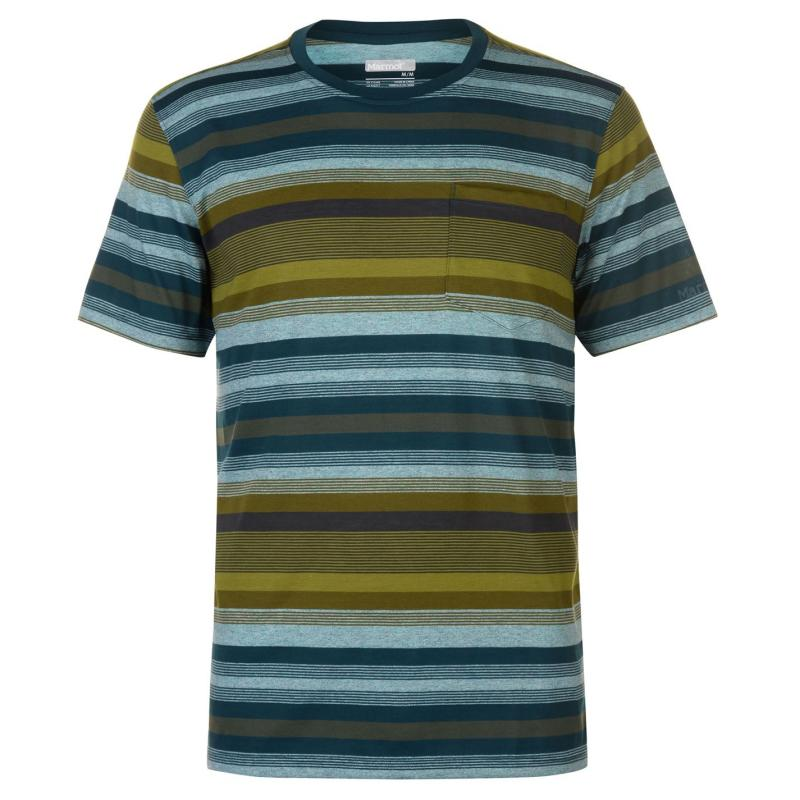 Marmot Red Rock T Shirt Mens Teal