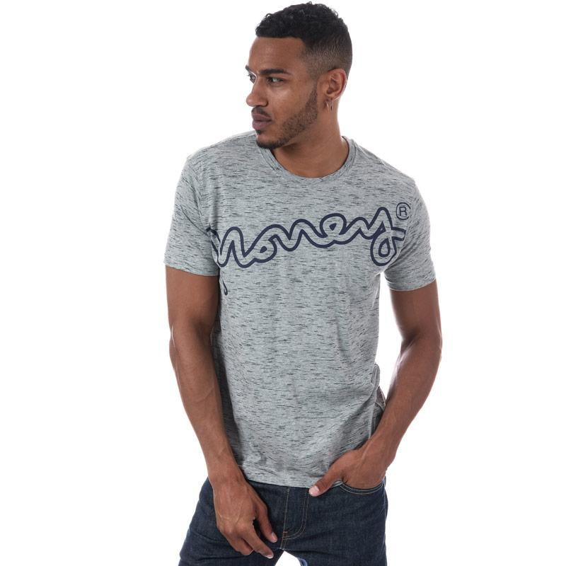 Tričko Money Mens Barney T-Shirt Grey