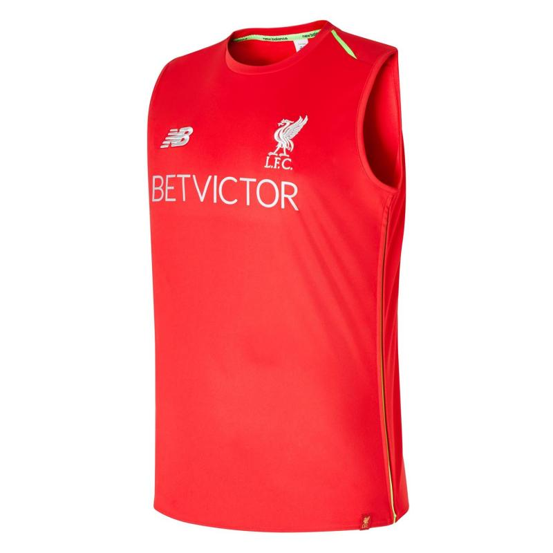 0268b884d68 Tílko New Balance Liverpool Training Vest 2018 2019 Mens Red