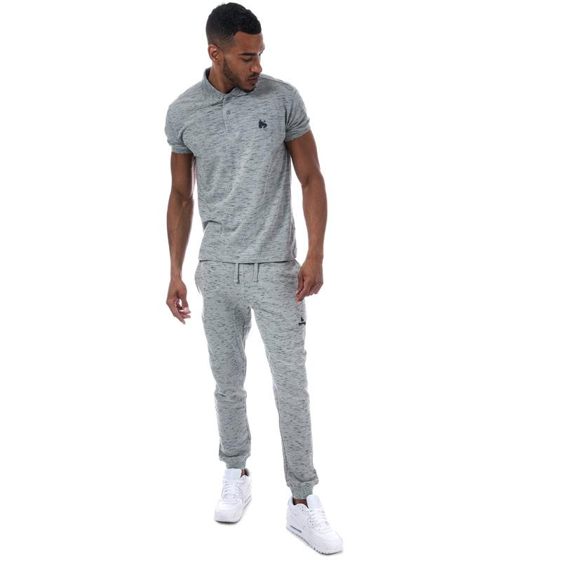 Money Mens Toke Polo Shirt Grey