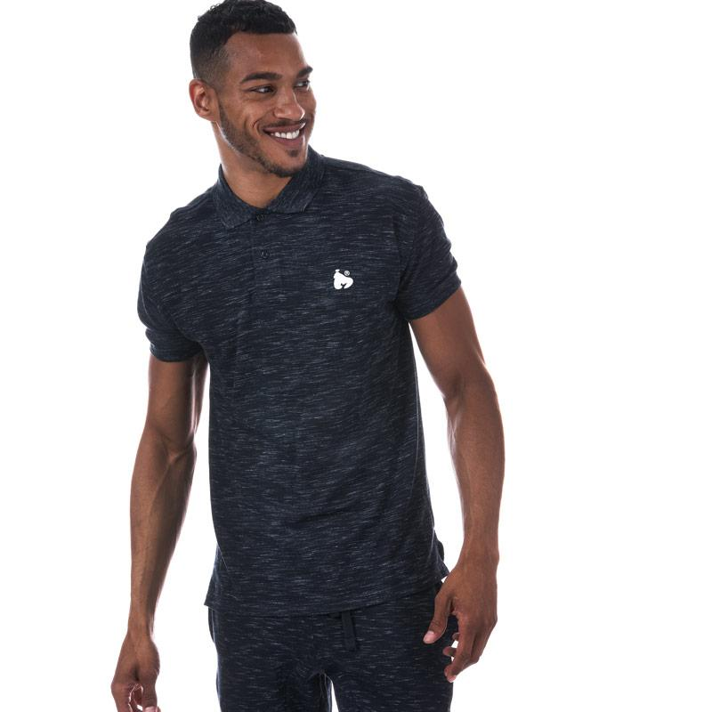 Money Mens Toke Polo Shirt Navy