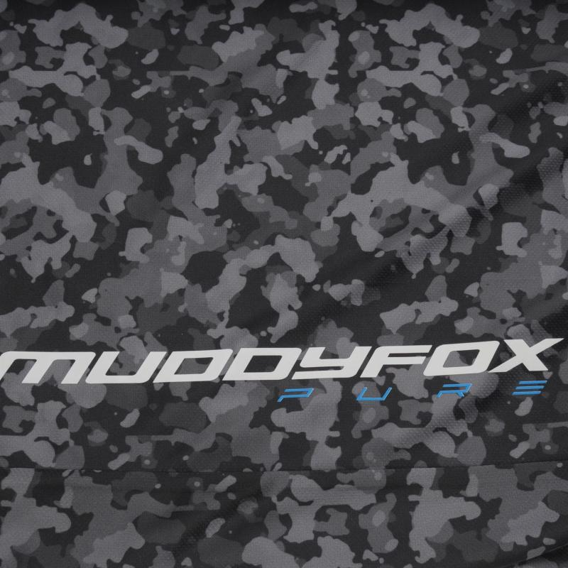 Tričko Muddyfox Pure Camouflage Short Sleeve Jersey Mens Charcoal Camo