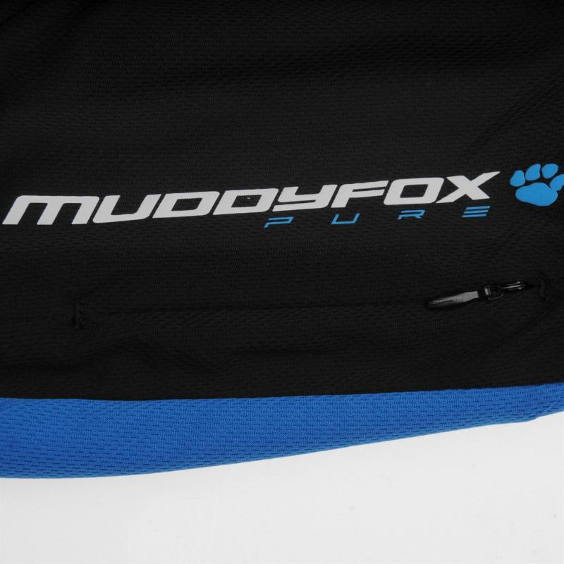 Tričko Muddyfox Pure Short Sleeve Jersey Mens Blue/Black