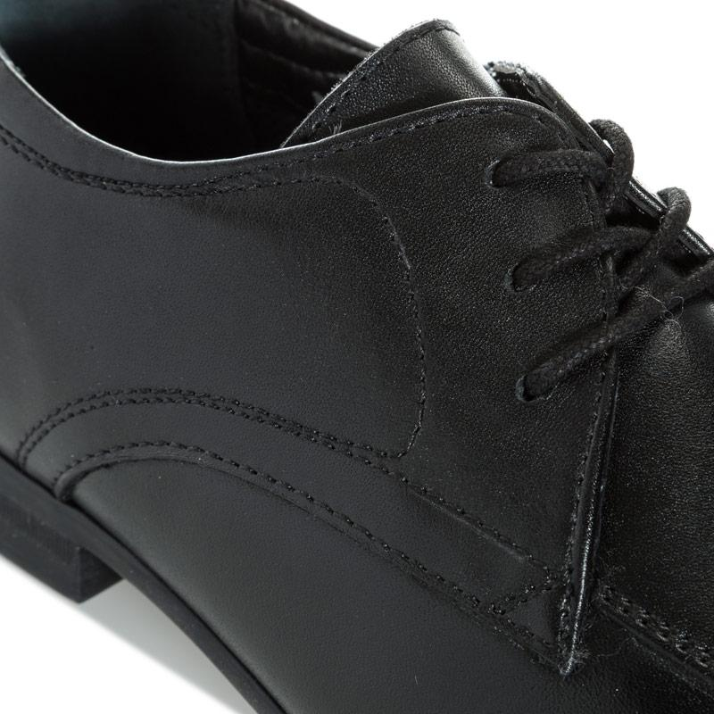 Hush Puppies Children Boys Jake Shoes Black